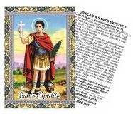 Artigos de Santo Expedito, Artigos Católicos, Santinhos de Promessa, Velas Aromáticas.