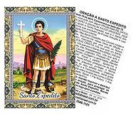 Oração Santo Expedito, Artigos Religiosos, Velas Católicas, Chaveiros Religiosos, Santinhos com Oração.