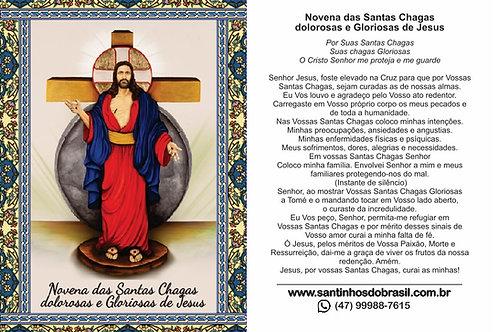 Novena das Santas Chagas de Jesus