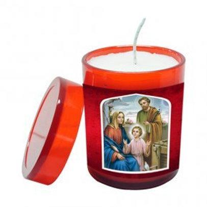 Vela Perfumada da Sagrada Família 7 cm