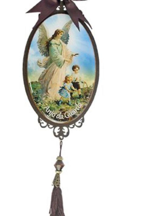 Adorno p/ Porta Anjo da Guarda (25 cm)