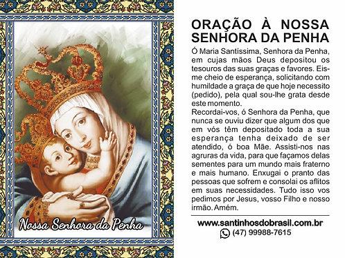 Oração Nossa Senhora da Penha - 7x10 cm