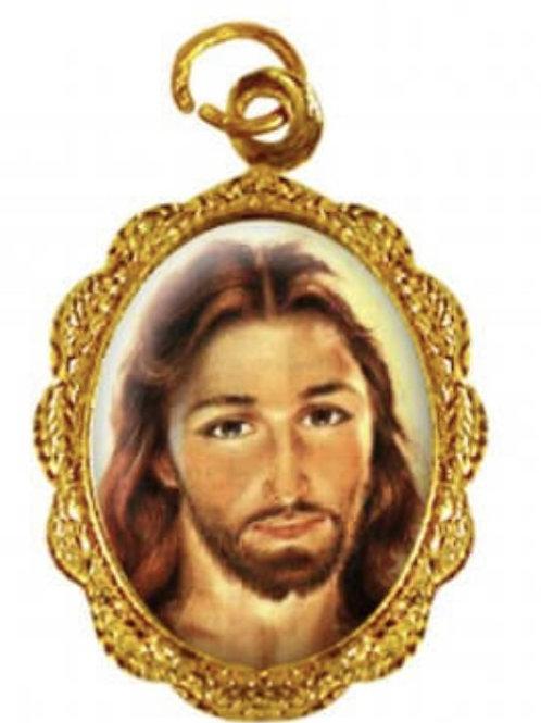 Medalhas do Rosto de Cristo - 1x2 cm