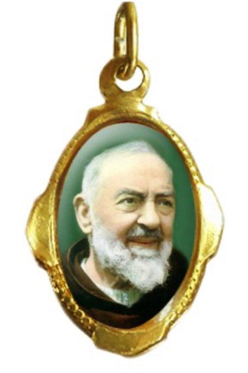 Medalhas do Santo Pio - 1x2 cm