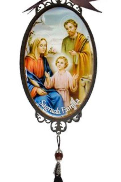Adorno p/ Porta Sagrada Família (25 cm)