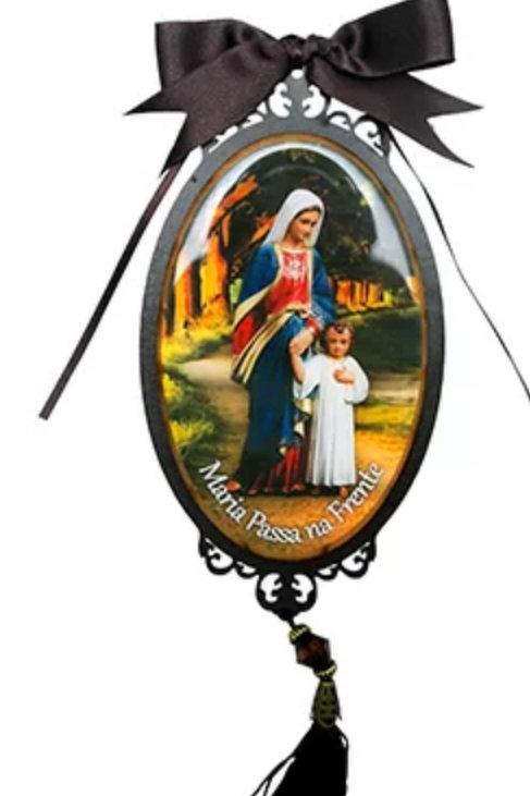 Adorno Porta Maria Passa na Frente  (30 cm)
