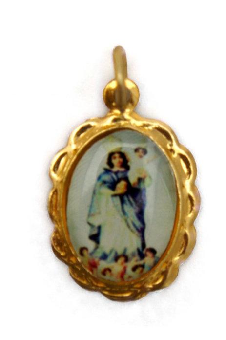 Medalhas de N. Sra. da Cabeça - 1x2 cm