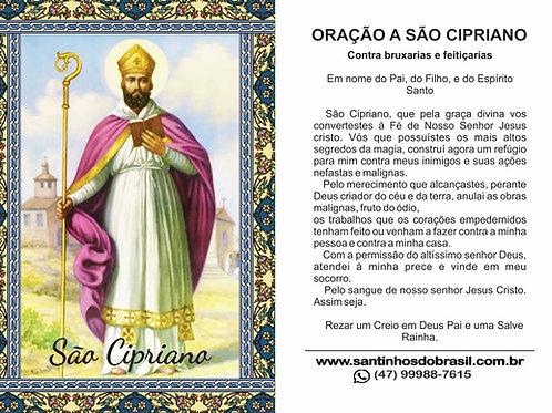Oracao a Sao Cipriano - Santinho