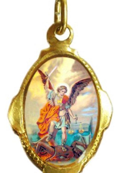 Medalhas de São Miguel Arcanjo - 1x2 cm