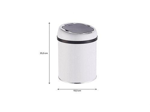 Lixeira com Sensor Automática - 3 Litros (Branca)