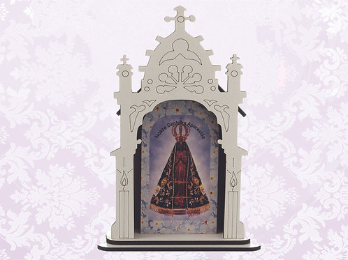 Capelinha N. Sra. Aparecida (17 cm)