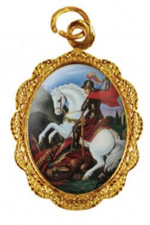 Medalhas de São Jorge - 1x2 cm