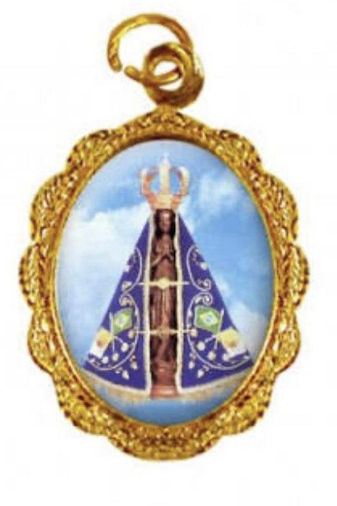 Medalhas de N. Sra. Aparecida - 1x2 cm