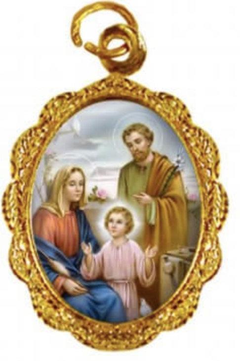 Medalhas da Sagrada Família 1x2 cm