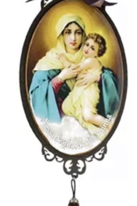 Adorno de Porta Mãe Rainha  (30 cm)