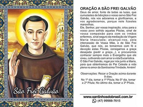 Oração São Galvão - 7x10 cm