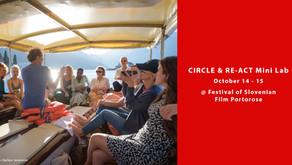 CIRCLE & RE-ACT Mini Lab at the Festival of Slovenian Film Portorose