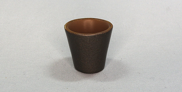 Hammered Silver Planter - Small