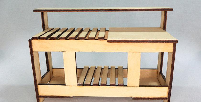 Potting Bench - Basswood