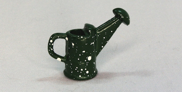 Green with White Spots Watering Can