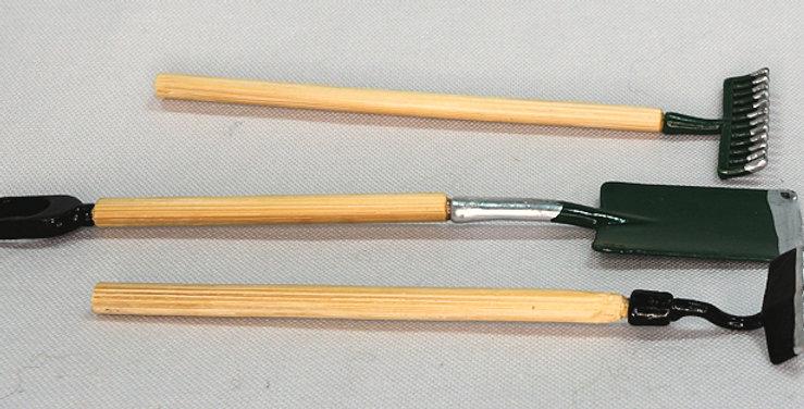 Garden Tool Set - Green Trim