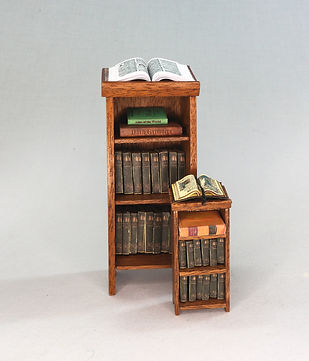Reference Stand and Books