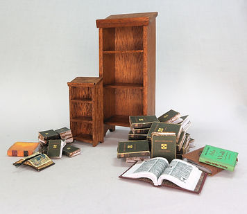 Reference Stand with Books