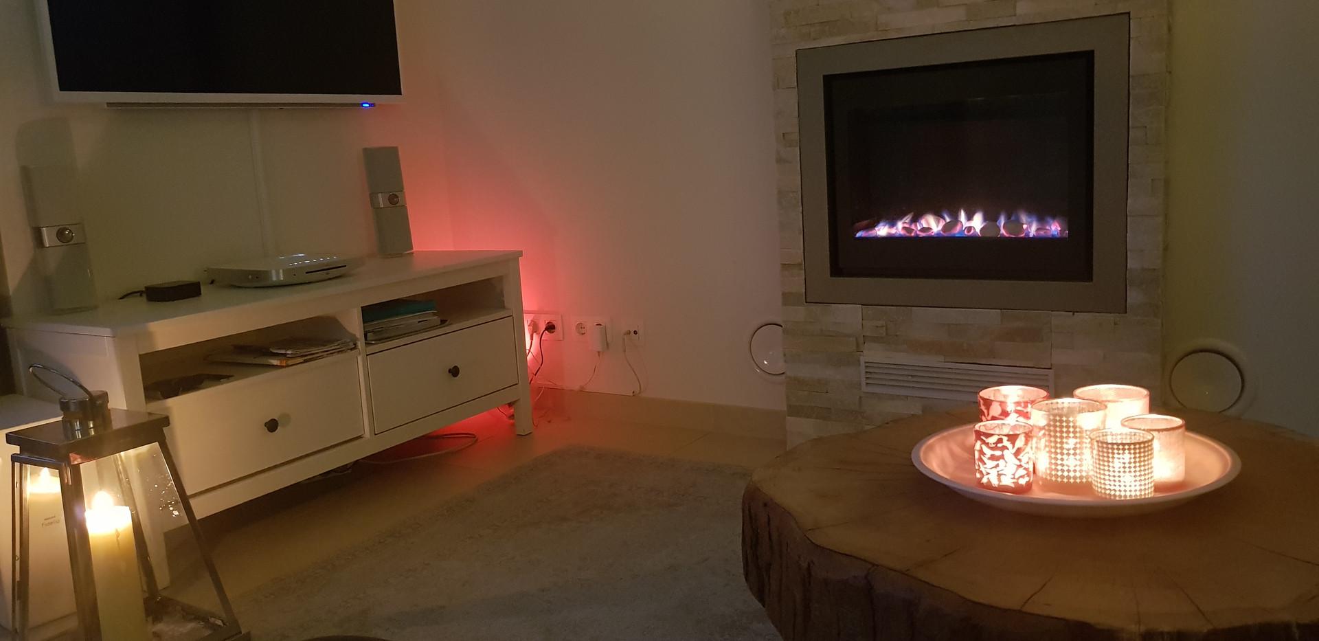 Wohnzimmer luxeriös Ferienwohnung Cadzand Sonos