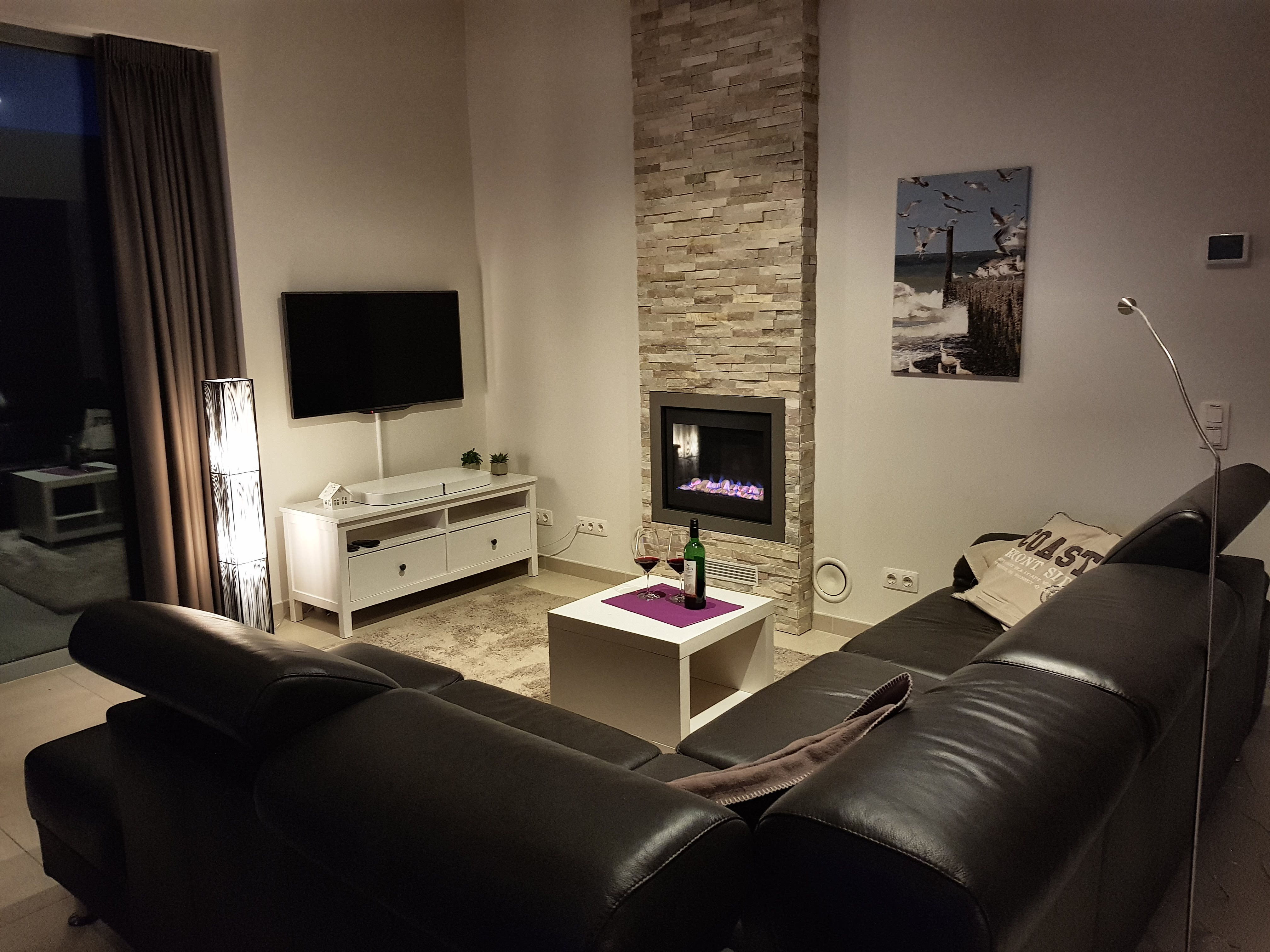 Ferienwohnung Wohnzimmer Cadzand