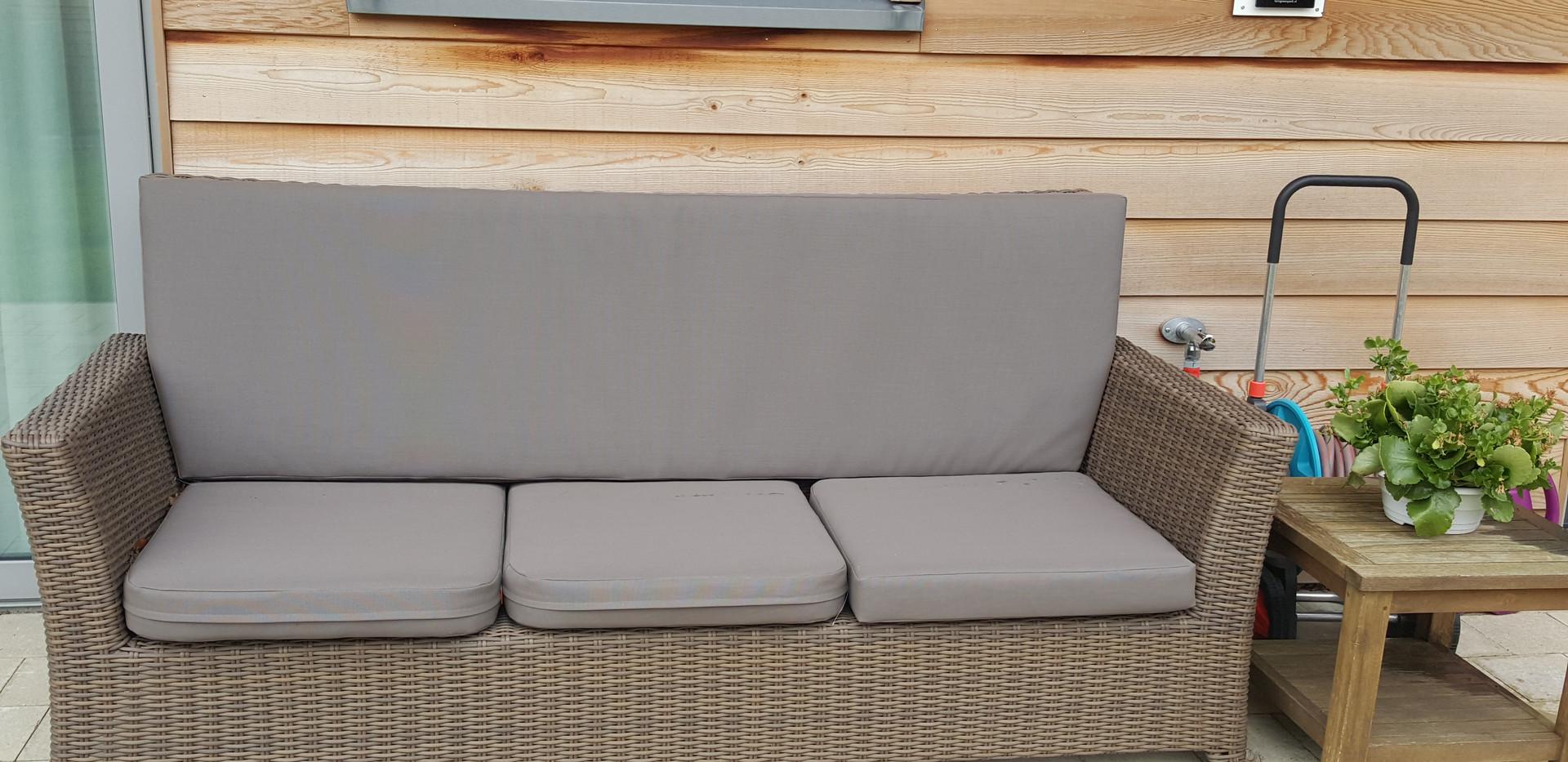 Außenbereich Couch Lounge Cadzand Bonnies