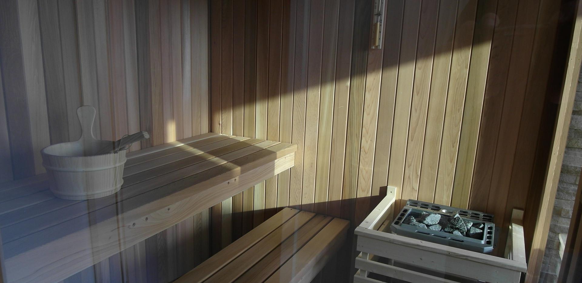 Sauna DuinSpa Ferienwohnung Bonnies