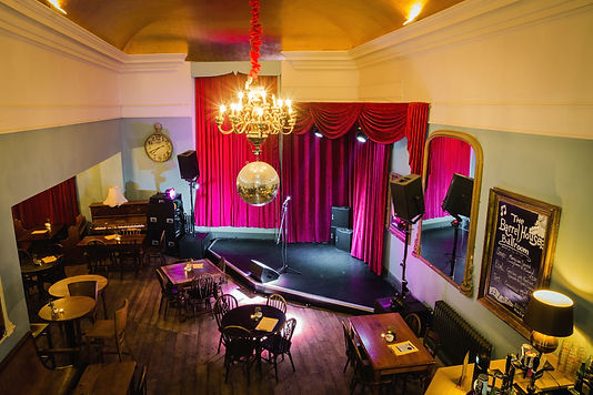 The Barrel House, Totnes. The home of Chapter 12 Comedy Club
