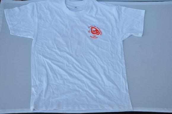 Tee-shirt Jean Mi Animation Blanc