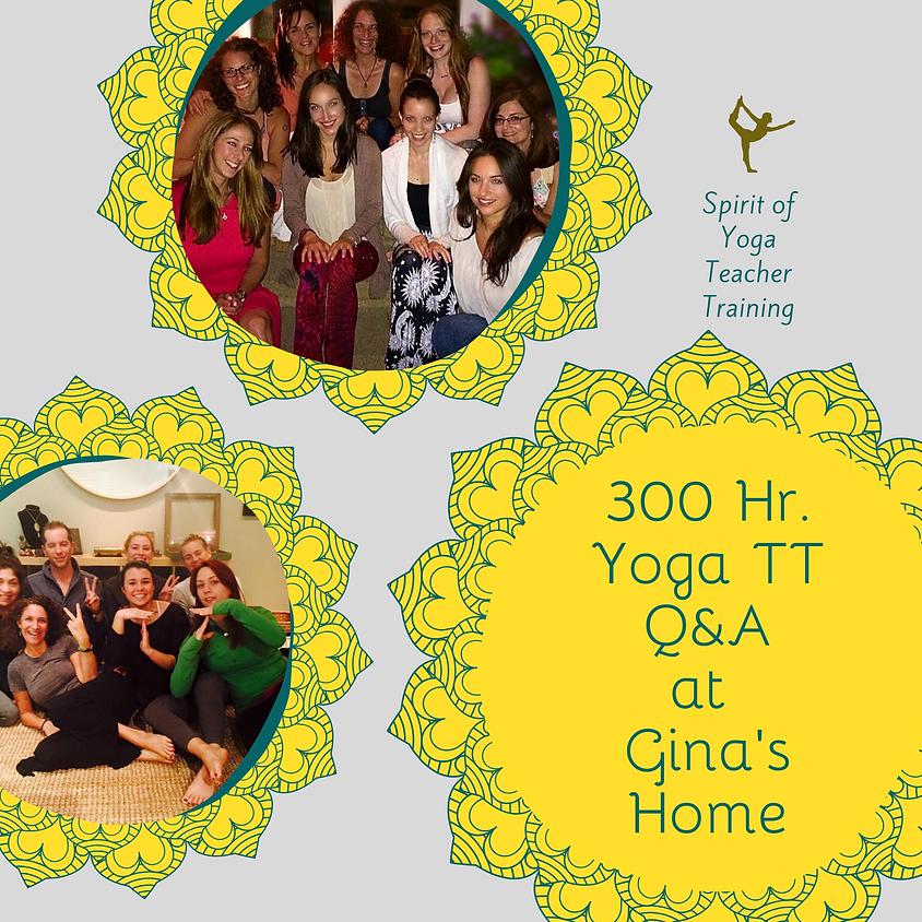 300 Hr. Yoga Teacher Training Q&A Gathering
