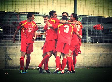 Jugadores del  Club Deportivo Ciudad de Leganés