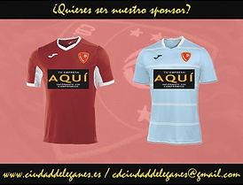 Sponsor camisetas
