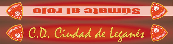 Bufanda CD Ciudad de Leganés