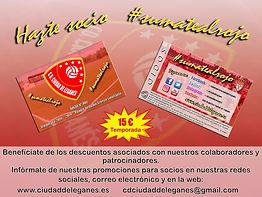 Socios Club Deportivo Ciudad de Leganés