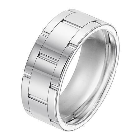 9mm Tungsten Carbide Band