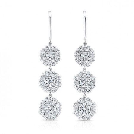 Cluster Droop Earrings