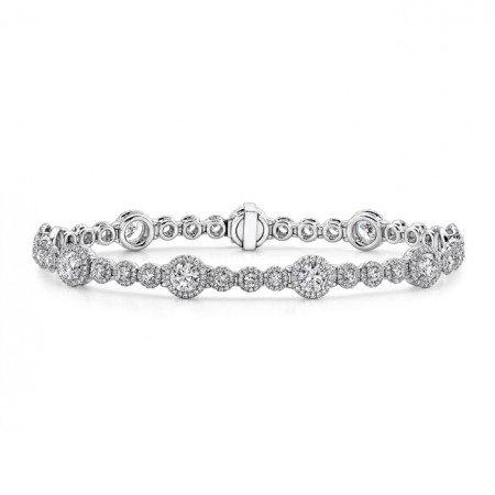 Halo Tennis Bracelet
