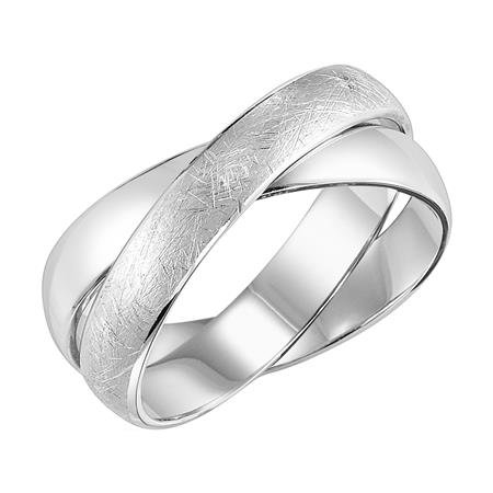 14kt. W.G.  Wedding Band
