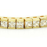14kt. Y.G. 4.00 ct Diamond Bracelet