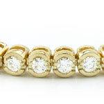 14kt. Y.G. 2.00 ct Diamond Bracelet