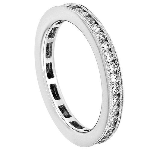 18 Kt. W.G. 0.68 ct  Diamond Wedding Band