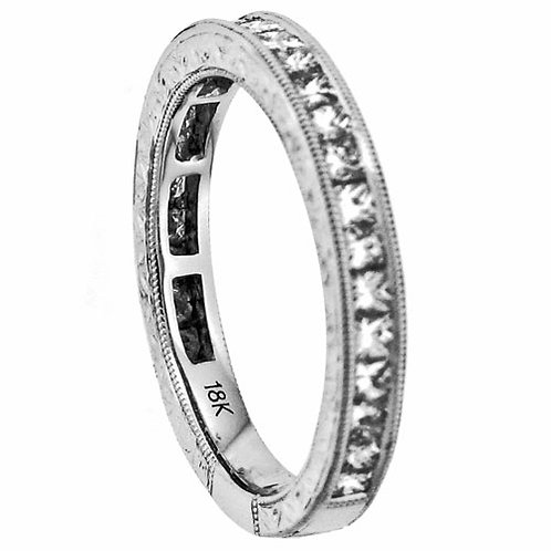 18 Kt. W.G. 0.88 ct Diamond Wedding Band