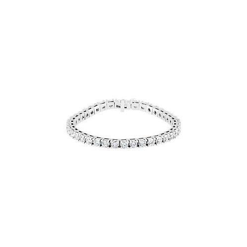 14kt. WG 4.3mm Diamond Tennis Bracelet