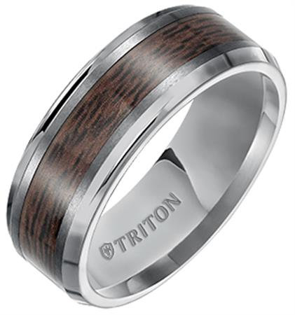 8mm Tungsten Carbide Band