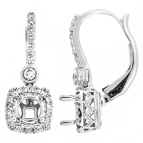 18kt. W.G. Dangling Earrings