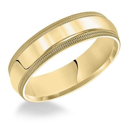14 Kt. Yellow Gold Comfort Fit 4 mm Band